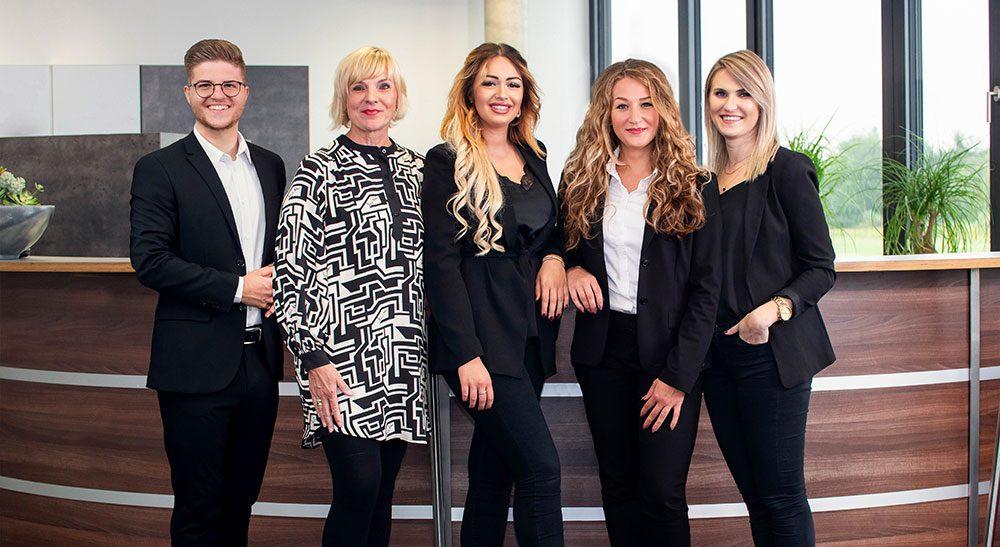 Gruppenfoto vom Team Baden-Baden