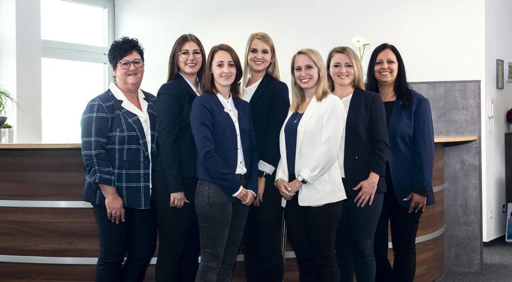 Gruppenfoto vom Select-Team Sinsheim