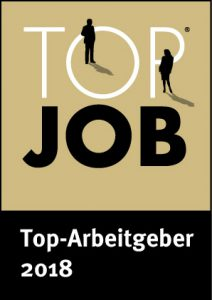 Siegel als Top-Arbeitgeber 2018
