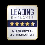 Leading Employer Siegel zur Mitarbeiterzufriedenheit