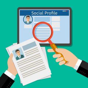 Tablet zum Social-Networken für das Mobile Recruiting