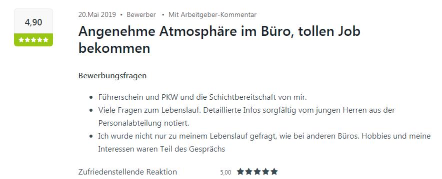 Für die tolle Atmosphäre erhält Heilbronn eine positive Kununu-Bewertung