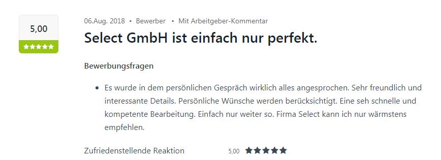 Kununu-Bewertung für den Standort Karlsruhe