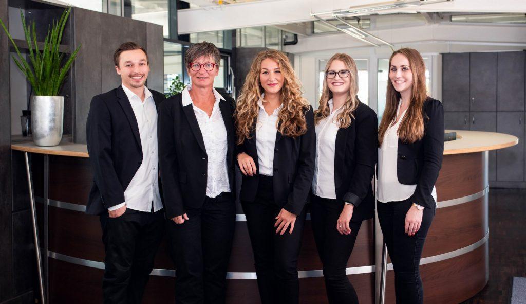Gruppenfoto vom Select-Team Karlsruhe