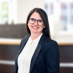 Simone Freund ist Ansprechpartnerin für Personalvermittlung und Zeitarbeit in Mosbach