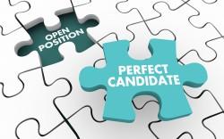 Passendes Puzzle-Teil ist der perfekte Kandidat für eine offene Stelle