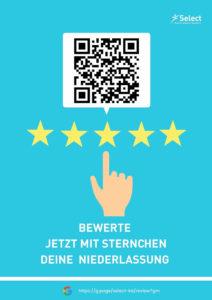 Select Karlsruhe auf Google My Business bewerten