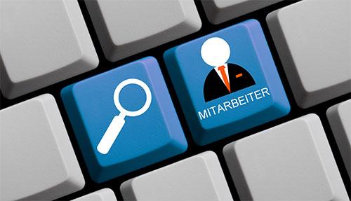 Personalbeschaffung per Knopfdruck auf der Tastatur