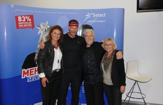 Teamfoto mit Christian Bischoff