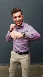 Francesco meistert erstes Ausbildungsjahr als Personaldienstleistungskaufmann