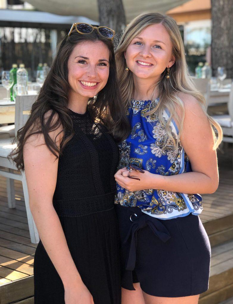 Auszubildende Luisa und Marina