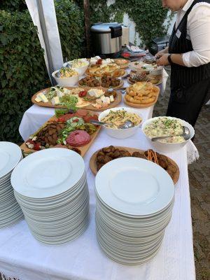Essen auf dem ungarischen Mitrabeiterfest