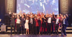 Select Mitarbeiter auf der Select Charity Gala