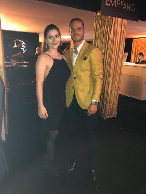 Anthea Probst mit Rurik auf der Charity Gala RheumaKinder e.V.