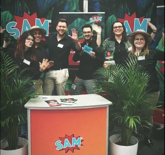 Das Team von SAM