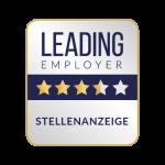 Leading Employer Siegel zur Stellenanzeige