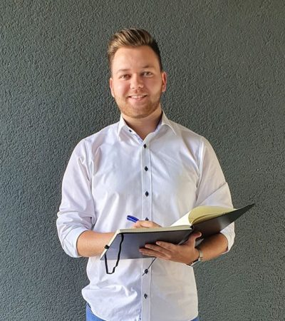 Christian in seinem zweiten Studienjahr