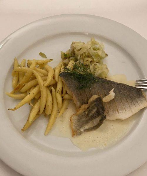 Essen auf dem Seminar in Lautrach