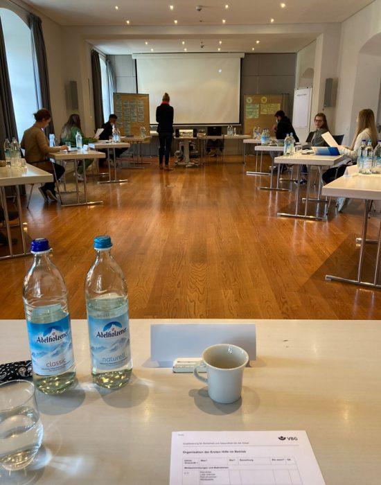 Select Azubis auf dem VBG Seminar