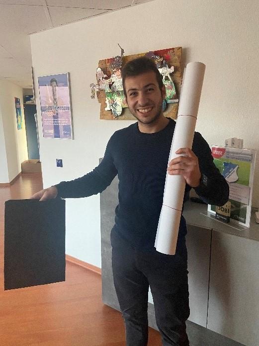 Francesco bereitet Außendienst vor