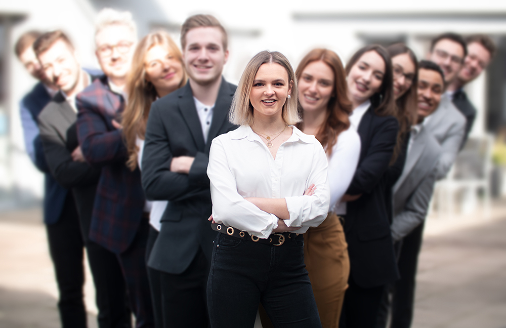 Auszubildende bei Select GmbH