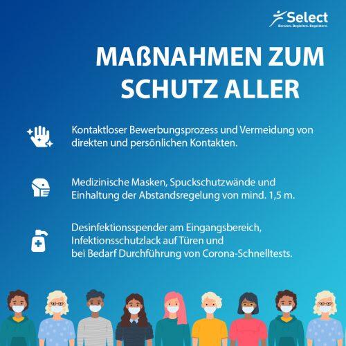 Infektionsschutzmaßnahmen bei Select
