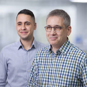 Kundenbild mit Mirko Winterbauer und Azubi Muhammed Basdereli