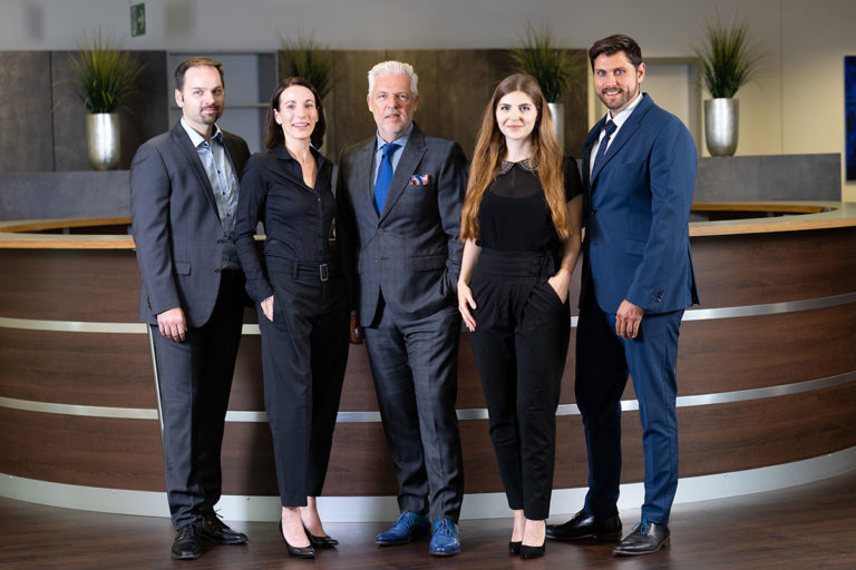 Gruppenfoto der Select Geschäftsführung