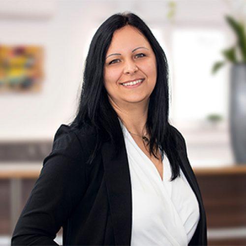 Andrea Biliczki als Junior Talent Recruiting Manager in Heilbronn