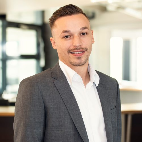 Junior Consultant HR Services Christoph Ginter bei Select Karlsruhe