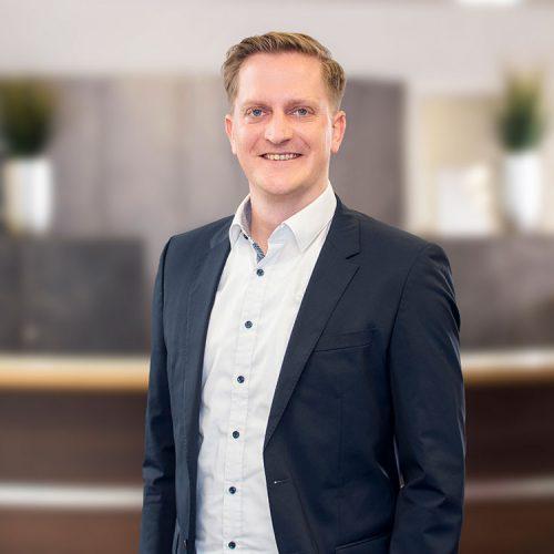 Account & Interims Manager Daniel Covic bei Select Heilbronn